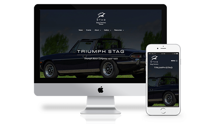 Stag Owners Website